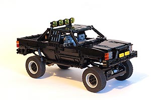 Набор LEGO MOC-7203 Back to the Future Toyota