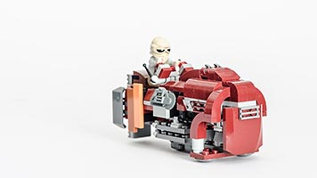 Набор LEGO MOC-7223 Reys Alternate Speeder