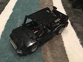 Набор LEGO MOC-7242 Car System Body A