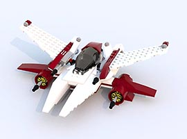 Набор LEGO MOC-7338 AX2-Valkyrie