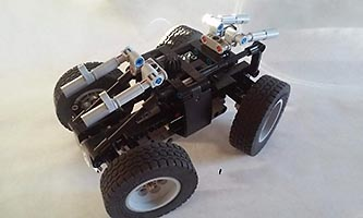 Набор LEGO MOC-7634 Zombie Destruction Rover