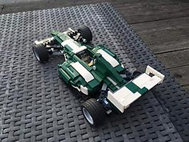 Набор LEGO MOC-7708 10242 alternate model F1 car based on the idea of Nathanael Kuipers