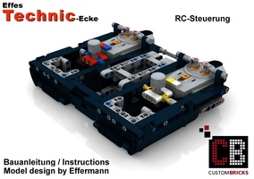 Набор LEGO MOC-7808 RC Remote Control Power Funktion