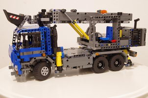 Набор LEGO MOC-7860 Truck with excavator (based on Tatra and UDS)