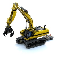 Набор LEGO MOC-7863 Modification 8043 Grab Crane Excavator