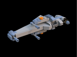 Набор LEGO MOC-7936 Miniscale Star Wars B-wing Starfighter