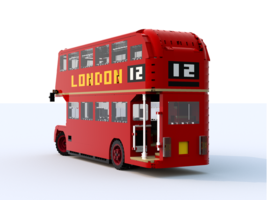 Набор LEGO MOC-8107 AEC Routemaster (London Double-decker Bus)