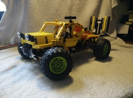 Набор LEGO MOC-8189 Off road transporter