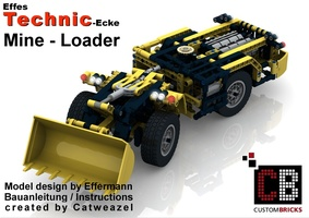 Набор LEGO MOC-8216 Custom Mine Loader