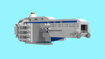 Набор LEGO MOC-8734 Micro Space Freighter