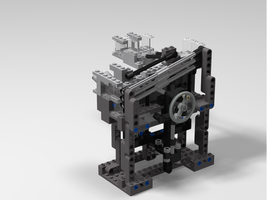 Набор LEGO MOC-8801 MGBC Simple Stepper