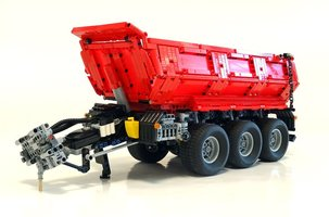 Набор LEGO MOC-8830 Tractor Dump Trailer (for Claas Xerion 5000 TRAC VC - 42054 set)