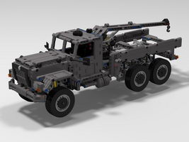 Набор LEGO MOC-8976 Military recovery truck