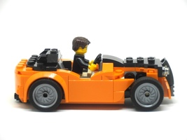 Набор LEGO MOC-9037 75880 Hot Rod