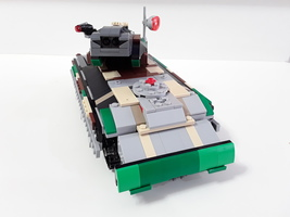 Набор LEGO MOC-9350 Main Battle Tank