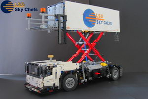 Набор LEGO MOC-9492 Airport Catering Truck| 42043 C MODEL