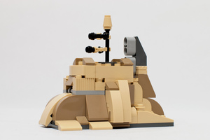 Набор LEGO MOC-9599 The Jedha City for Microfighter ISD
