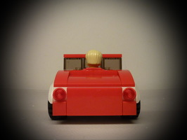 Набор LEGO MOC-9811 31005 Hot Rod for Minifig