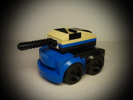 Набор LEGO MOC-9961 75878 Chibi Tank Destroyer for Minifig
