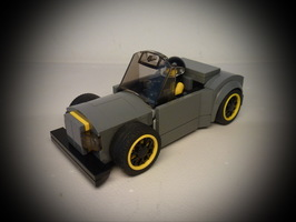 Набор LEGO MOC-9979 75877 Hot Rod for Minifig
