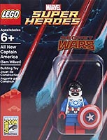 Набор LEGO SDCC2015-4 All New Captain America (Sam Wilson)
