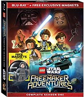 Набор LEGO SWDVD The Freemaker Adventures - Complete Season One (DVD/Blu-ray)