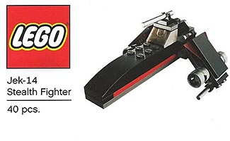 Набор LEGO TRU03 Mini Jek-14 Stealth Fighter