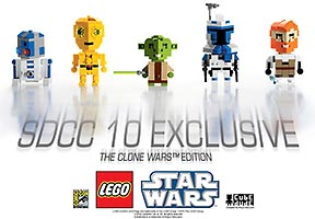 Набор LEGO comcon012 CubeDude - The Clone Wars Edition - San Diego Comic-Con 2010 Exclusive