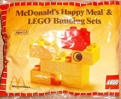 Набор LEGO 1916-2 McDonald's Happy Meal & Duplo Building Sets polybag