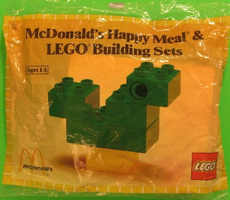 Набор LEGO 1917-2 McDonald's Happy Meal & Duplo Building Sets polybag