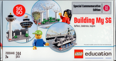 Набор LEGO 2000446-2 Building My SG - Reflect, Celebrate, Inspire (Special Commemorative Edition)