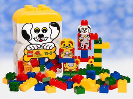 Набор LEGO 2265 Large Puppy Clearpack