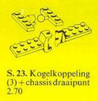 Набор LEGO 23-3 Ball/Socket Coupling/Unit