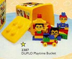 Набор LEGO 2387 Playtime Bucket