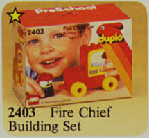 Набор LEGO Fire Chief Building Set