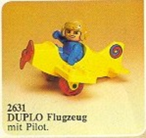 Набор LEGO 2631 Stunt Pilot and Plane