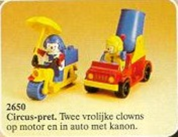 Набор LEGO 2650-2 Cannon Ball Clowns