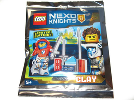 Набор LEGO 271712 Clay and Training Stand foil pack