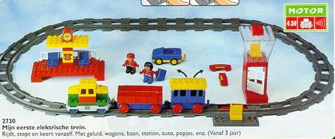 Набор LEGO 2730 Electric Play Train Set