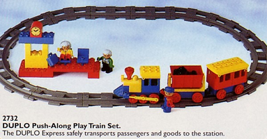 Набор LEGO 2732 Push-Along Play Train Set