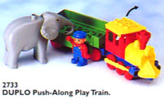 Набор LEGO 2733 Push-Along Play Train