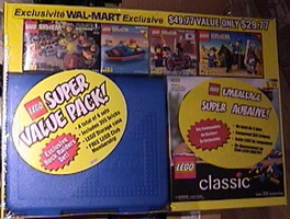 Набор LEGO 4127417 Walmart Co-Pack with Carry Case