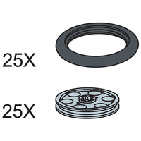 Набор LEGO 5003152 O Rings and Pulley Wheels