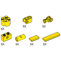 Набор LEGO 5003179 Simple Machines Yellow Assortment Pack