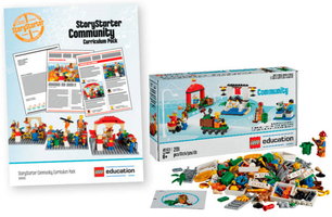 Набор LEGO 5004565 StoryStarter Community Expansion 3-Student Combo Pack