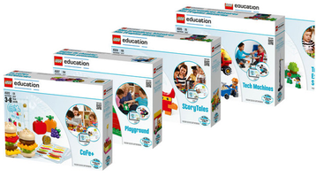 Набор LEGO 5005214 Introduction to Math and Literacy Pack (45013, 45014, 45015, 45016, 45017)