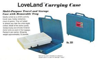 Набор LEGO 501-2 LoveLand Carrying Case (empty)