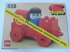 Набор LEGO 533-3 Racer (Pampers Promotional Set)
