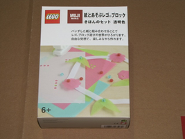 Набор LEGO 8465989 MUJI Basic Set (Transparent)