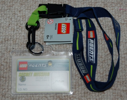 Набор LEGO 852308 Agents ID Card with Lanyard